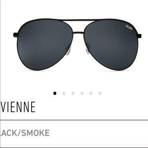 Quay Black Polarized Women's Sunglasses